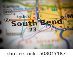 south bend. indiana. usa | Shutterstock . vector #503019187