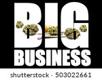 marijuana and cannabis business ... | Shutterstock . vector #503022661