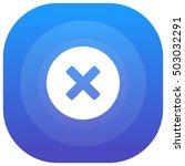 cancel purple   blue circular...