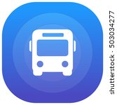 bus purple   blue circular ui...