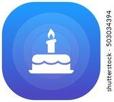 birthday cake purple   blue...