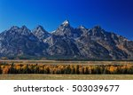 View Of The Tetons Mountains I...