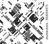 grunge grid black white and... | Shutterstock .eps vector #503054575