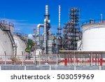 oil industry refinery factory   ... | Shutterstock . vector #503059969