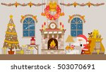 vector illustration of... | Shutterstock .eps vector #503070691