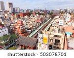 tokyo  japan  november 16  2015 ... | Shutterstock . vector #503078701