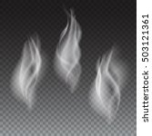 delicate white cigarette or...   Shutterstock . vector #503121361