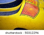 a pair of wooden dutch shoes in ... | Shutterstock . vector #50312296