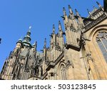 prague  capital of the czech... | Shutterstock . vector #503123845