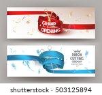 grand opening horizontal... | Shutterstock .eps vector #503125894