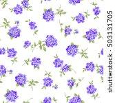 flower pattern illustration | Shutterstock .eps vector #503131705