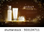exquisite cosmetic ads template ... | Shutterstock .eps vector #503134711