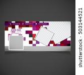 creative photography banner... | Shutterstock .eps vector #503144521