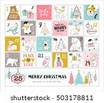 countdown to christmas | Shutterstock .eps vector #503178811