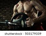 sports background. closeup... | Shutterstock . vector #503179339