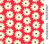 seamless pattern with hand...   Shutterstock .eps vector #503192467