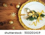 family holiday  christmas table ...   Shutterstock . vector #503201419