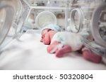 newborn baby boy covered in... | Shutterstock . vector #50320804