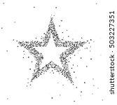 vector illustration of black... | Shutterstock .eps vector #503227351