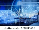 business and finance  modern... | Shutterstock . vector #503238637