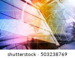 business and finance  modern... | Shutterstock . vector #503238769