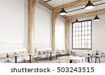 restaurant interior with sofas  ... | Shutterstock . vector #503243515