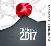 welcome 2017 japan  | Shutterstock . vector #503247301