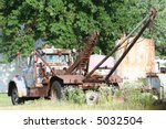 An Old Tow Truck Sits Dormant...
