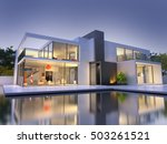 realistic 3d rendering of a... | Shutterstock . vector #503261521