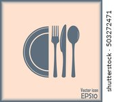 vector illustration sign with... | Shutterstock .eps vector #503272471