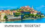 panoramic view over... | Shutterstock . vector #503287267