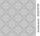 arabesque. vintage abstract... | Shutterstock .eps vector #503295709