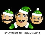 elf icon basic simplified...   Shutterstock .eps vector #503296045