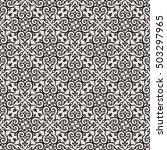 arabesque. vintage abstract... | Shutterstock .eps vector #503297965