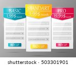 design element for website.... | Shutterstock .eps vector #503301901