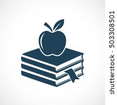 Abstract Education Icon Vector...