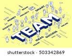 vector illustration of three... | Shutterstock .eps vector #503342869