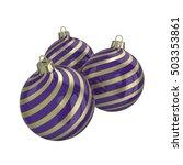 vintage purple decorative... | Shutterstock . vector #503353861