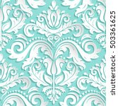 seamless oriental ornament....   Shutterstock . vector #503361625
