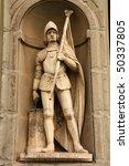 Постер, плакат: Statue of Francesco Ferruccio