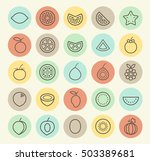 set of isolated universal... | Shutterstock .eps vector #503389681