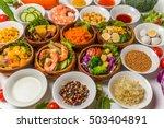 salad group photo | Shutterstock . vector #503404891