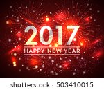 Happy New Year 2017 Firework...