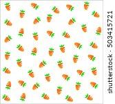 seamless fruits raster pattern