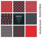 set of 8 popular masculine...   Shutterstock .eps vector #503419804