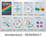 infographic vector set.... | Shutterstock .eps vector #503440417