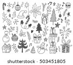 hand drawn vector illustration... | Shutterstock .eps vector #503451805