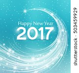 happy new year 2017  vector... | Shutterstock .eps vector #503459929