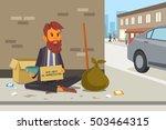 a vector illustration of... | Shutterstock .eps vector #503464315