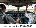 Pilot And Copilot In Commercia...
